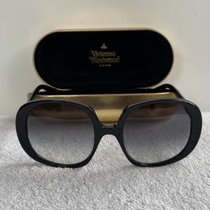 Vivienne Westwood drama-sized Sunglasses
